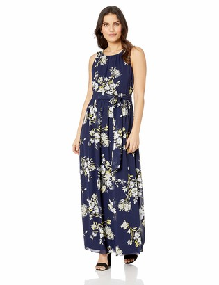 Jessica Howard JessicaHoward Women's Pleated Bodice Maxi Dress