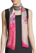 Vince Camuto Oblong Color Wash Silk Scarf