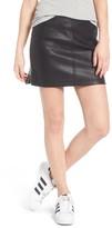 Obey Women's Billie Faux Leather Skirt