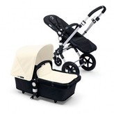 Bugaboo CAMELEONé Alu Frame Complete Pushchair, Black Base, Off-White