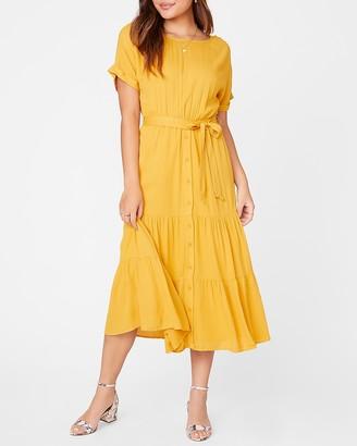 Express Sundown Midi Dress