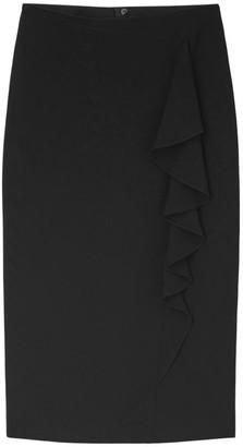 Lafayette 148 New York Vera Ruffle Pencil Skirt