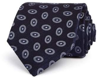 Giorgio Armani Oval Medallion Classic Tie