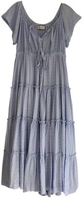 Innika Choo Blue Cotton Dresses