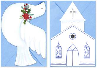 Hallmark 40-Count Church & Dove Assorted Religious Christmas Boxed Cards
