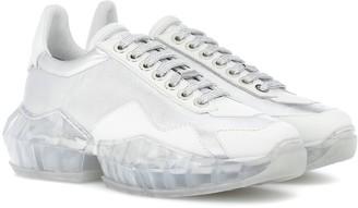 Jimmy Choo Diamond/F leather sneakers