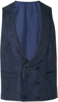 Canali formal waistcoat - men - Cotton/Cupro/Wool - 46