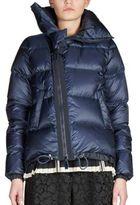 Sacai Asymmetrical Zip Puffer Jacket
