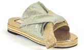 N°21 8287 - Glitter Bow Slide