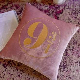Pottery Barn Teen Harry Potter Platform 9 3/4 Pillow Cover &amp Insert