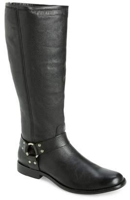 Frye Phillip Harness Tall Boot (Regular & Extended Calf)