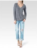 Paige Martine Top - Blue & White Stripe