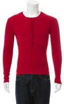Michael Kors Crew Neck Henley Sweater