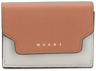 Marni Contrast Fold-Over Purse