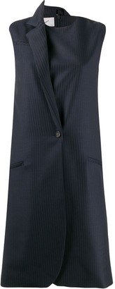 Coperni Tailored Pinstripe Dress