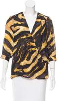 Kelly Wearstler Printed Silk Blouse