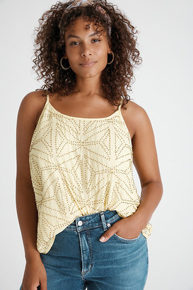 Bl Nk Gabriela Beaded Cami By Bl-nk in Yellow Size XS P