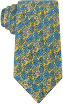 Tommy Hilfiger Men's Palm Leaves and Turtles Classic Tie