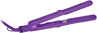 """Iso Beauty 1"""" Turbo Silk Titanium Flat Iron Purple"""
