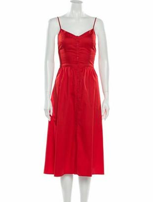 Caroline Constas Silk Maxi Dress w/ Tags White