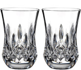 Waterford Crystal Lismore Flared Tumblers, Set of 2