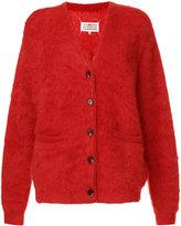 Maison Margiela classic knitted cardigan - women - Polyamide/Mohair/Wool - XS