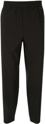Blackbarrett Elasticated Waist Cropped Track Pants