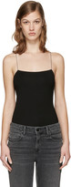 Alexander Wang Black Cut-out Camisole