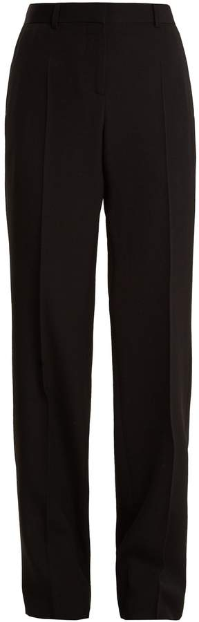 Givenchy High-rise straight-leg wool trousers