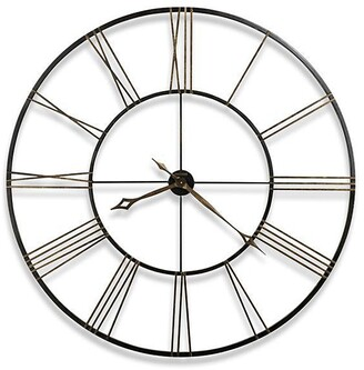 Howard Miller Postema Modern, Industrial, Transitional and Bold, Statement Wall Clock, Reloj De Pared