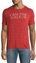 John Varvatos I am the Walrus Beatles T-Shirt, Brick Red