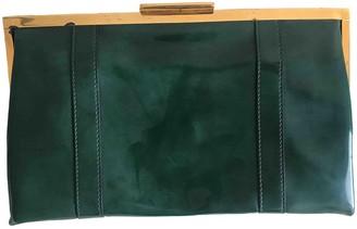 Marni Green Plastic Clutch bags