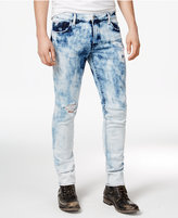 GUESS Men's Skinny Fit Ripped Jeans