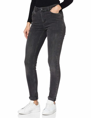 Pieces Women's Pcdelly B219 Mw Skn JNS Noos Skinny Jeans