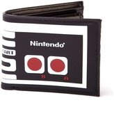 Nintendo Men's Original 4 Card Slots Nes Controller Design Bi-Fold Wallet