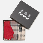 Barbour Women's Scarf and Gloves Set A Neutral