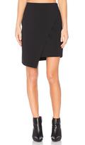 1 STATE Asymmetrical Cross Front Skirt