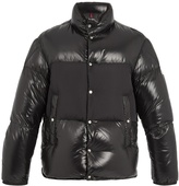 Moncler Aynard contrast-panel quilted-down jacket