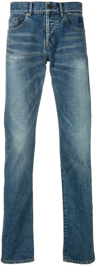Saint Laurent zip fastened jeans