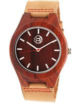 Earth Aztec Collection ETHEW4103 Wood Analog Watch