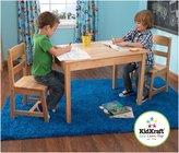 Kid Kraft Rectangle Table & 2 Chair Set - Natural
