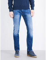 Stone Island Faded Slim-fit Skinny Jeans
