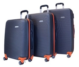 Atm Wave Collection 3 Pc. Hardside Luggage Set