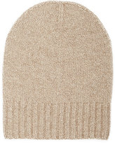 Barneys New York WOMEN'S CASHMERE BEANIE-TAN