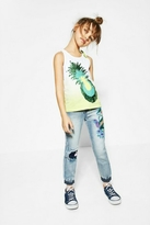 Desigual Pineapple Tank Top