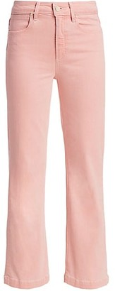 Paige Atley High-Rise Ankle Flare Jeans