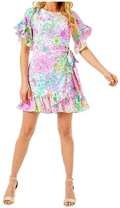 Lilly Pulitzer Darlah Stretch Dress (Multi Paradise Found) Women's Dress