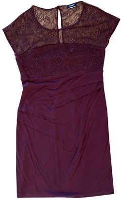 Max & Co. Burgundy Lace Dress for Women