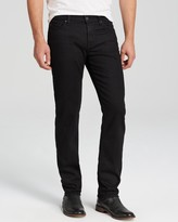 7 For All Mankind Luxe Performance Slimmy Slim Fit Jeans in Nightshade Black