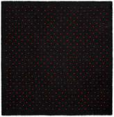 Gucci Lurex heart cashmere shawl